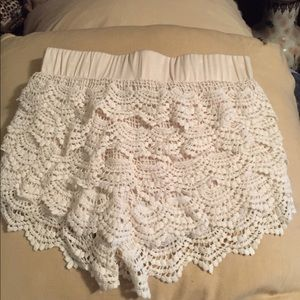 Fancy Frilly Dress Shorts